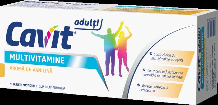 Cavit Adulti® cu aroma de vanilina