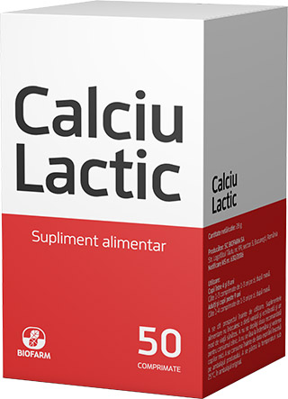 Calcium Lactate * 50 tablets