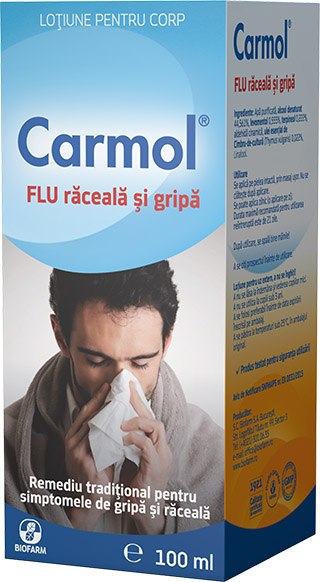 Carmol® Flu raceala si gripa