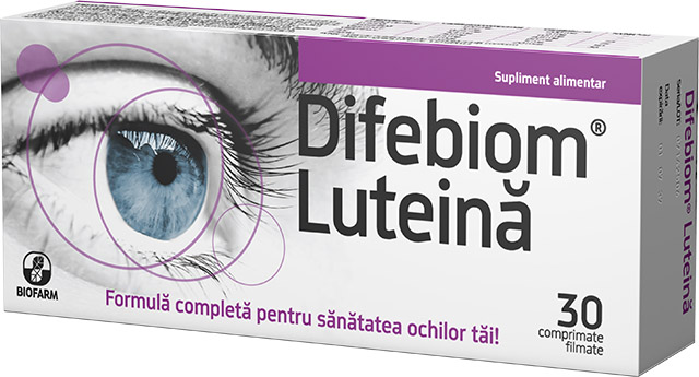 Difebiom® Lutein * 30 film-coated tablets