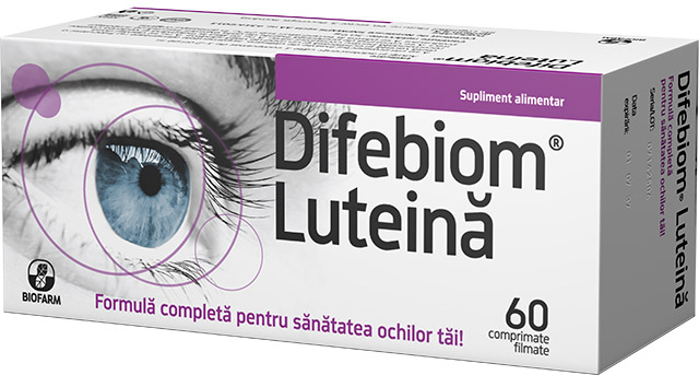 Difebiom® Lutein * 60 film-coated tablets