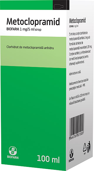 Metoclopramid sirop