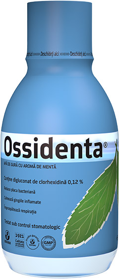 Ossidenta® - Mouthwash with mint flavor