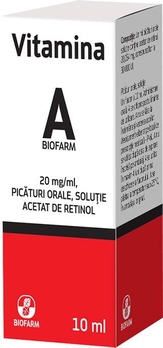 Vitamina A Biofarm