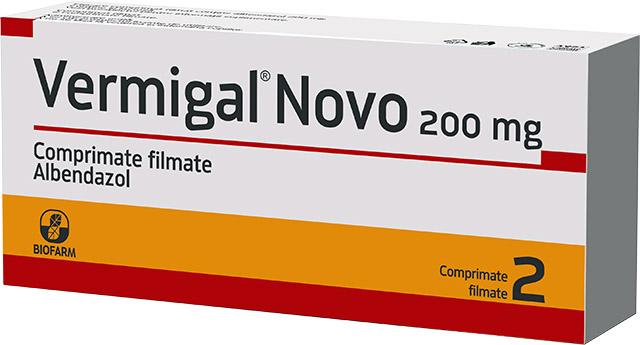 Vermigal® Novo comprimate