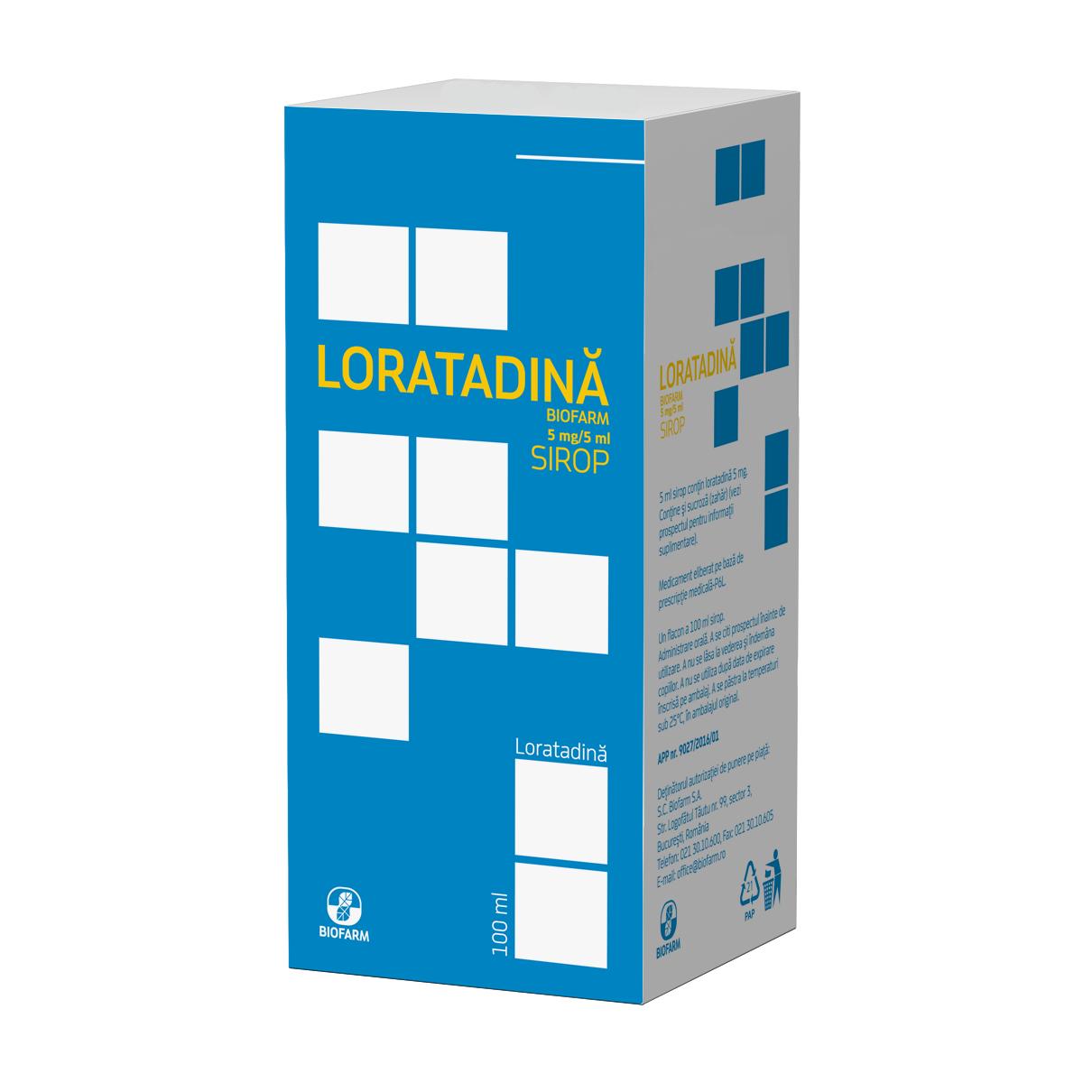 Loratadina Biofarm